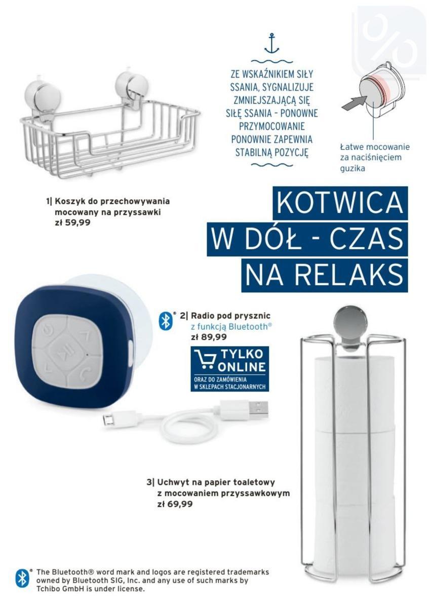 Gazetka promocyjna Tchibo do 22/07/2018 str.17