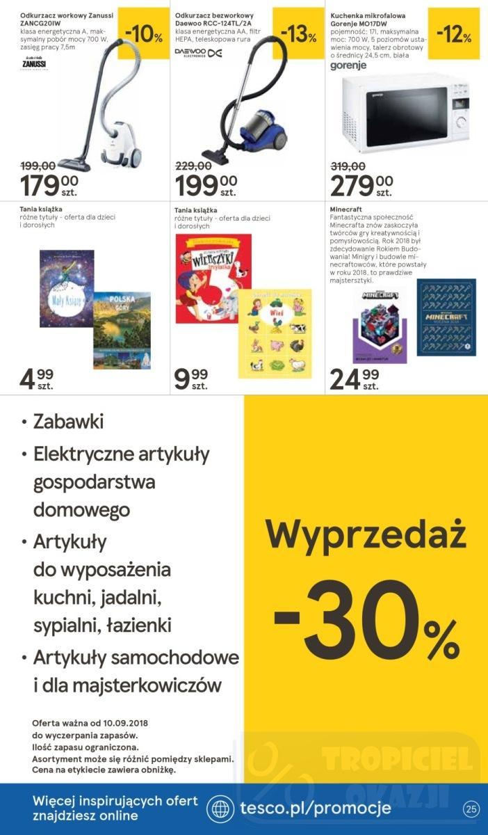 Gazetka promocyjna Tesco do 19/09/2018 str.25
