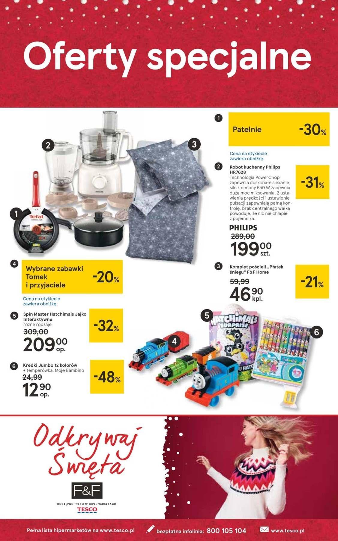 Gazetka promocyjna Tesco do 27/12/2018 str.36