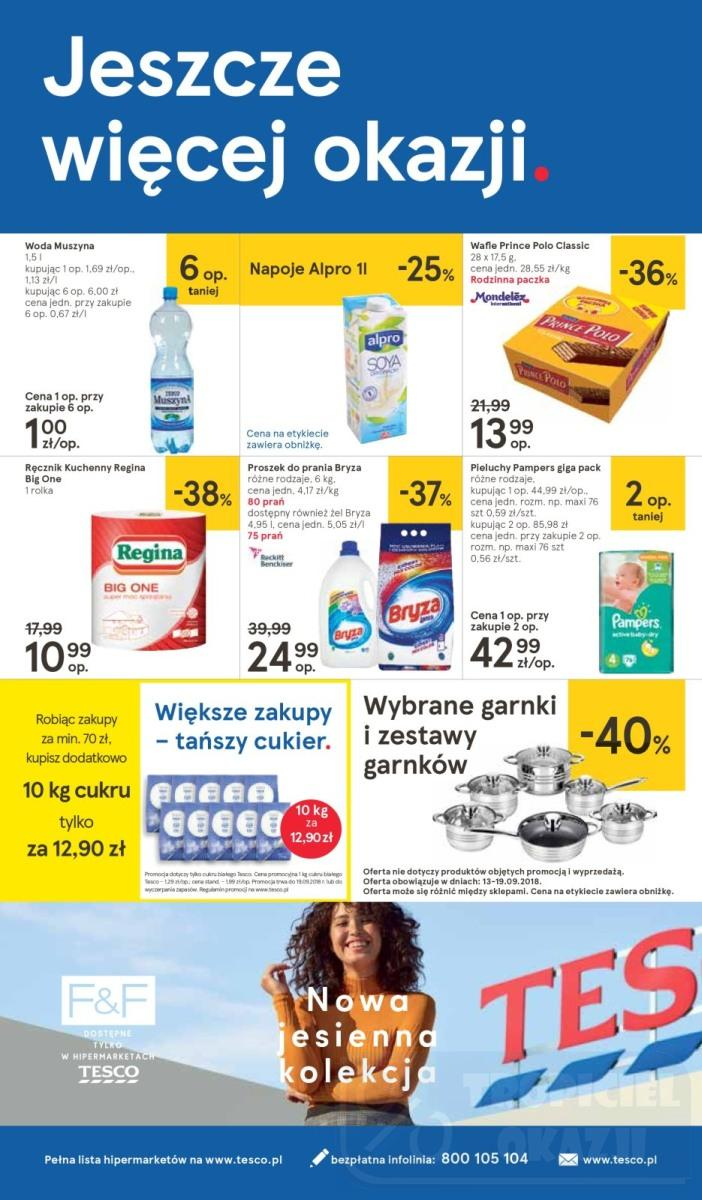 Gazetka promocyjna Tesco do 19/09/2018 str.32