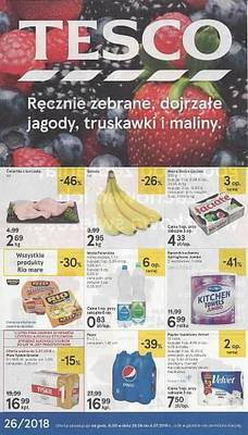 Tesco gazetka - od 28/06/2018 do 04/07/2018