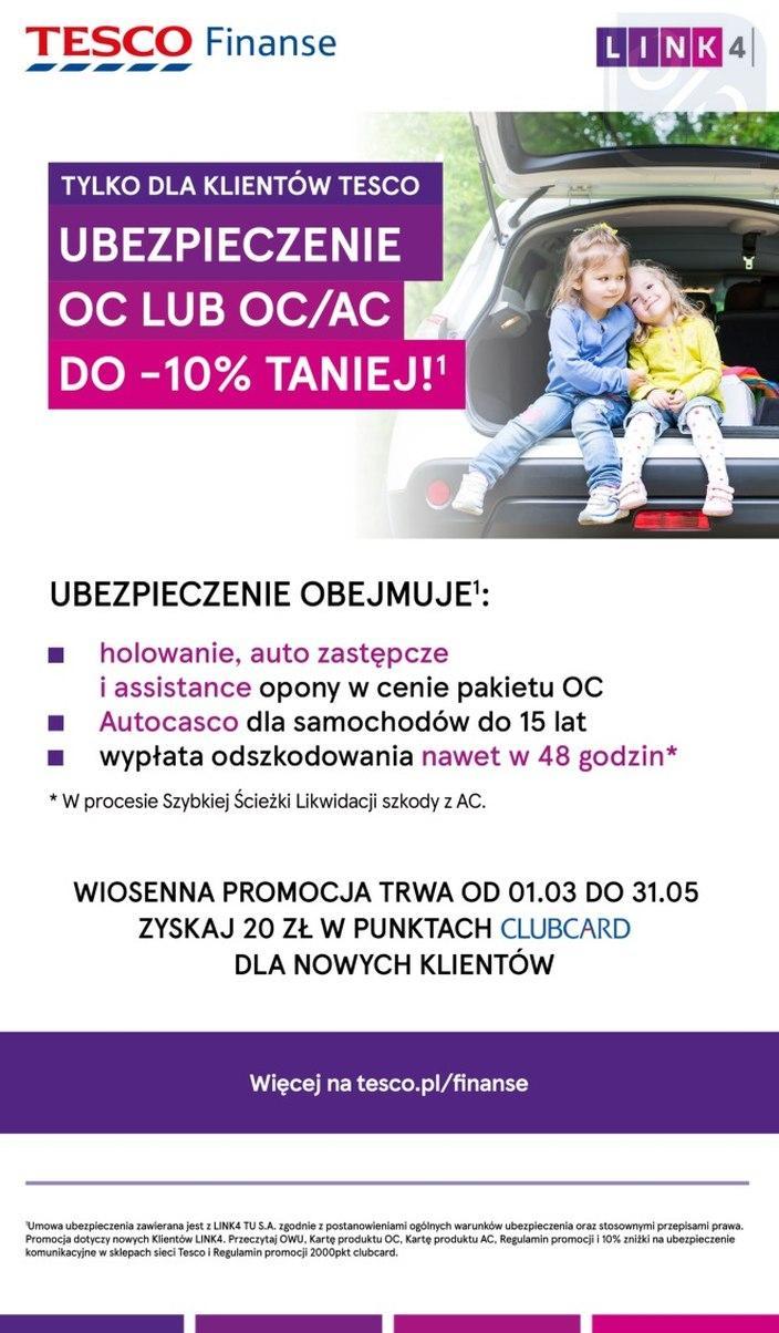 Gazetka promocyjna Tesco do 25/04/2018 str.32