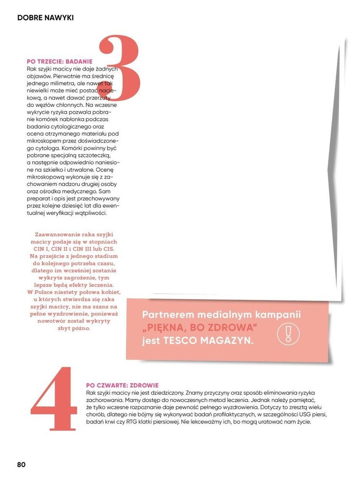 Gazetka promocyjna Tesco do 25/08/2019 str.80