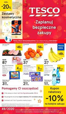 Tesco gazetka  - od 03/12/2020 do 09/12/2020