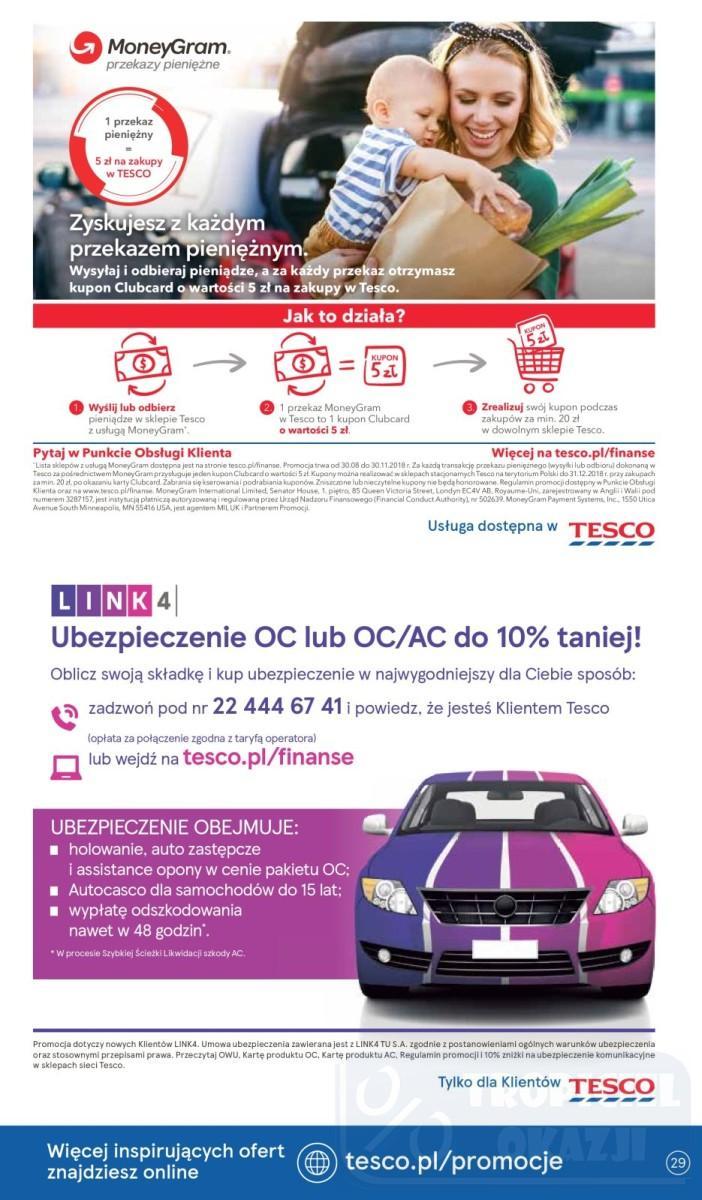 Gazetka promocyjna Tesco do 19/09/2018 str.29
