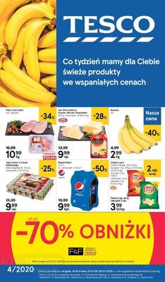 Tesco gazetka - od 23/01/2020 do 29/01/2020