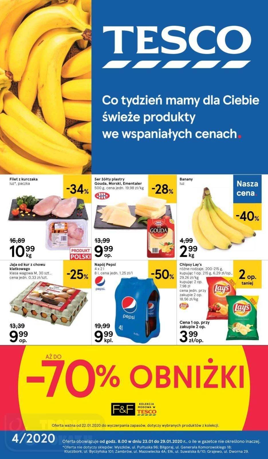 Gazetka promocyjna Tesco do 29/01/2020 str.0