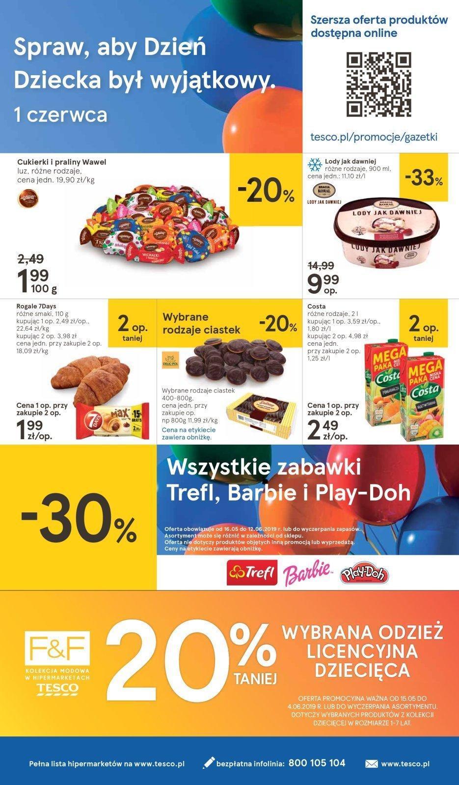 Gazetka promocyjna Tesco do 05/06/2019 str.31