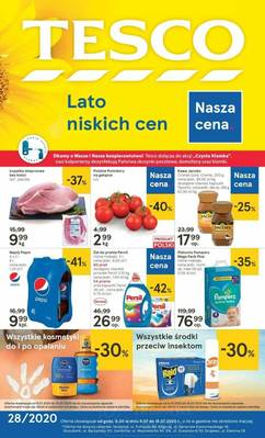 Tesco gazetka - od 09/07/2020 do 15/07/2020