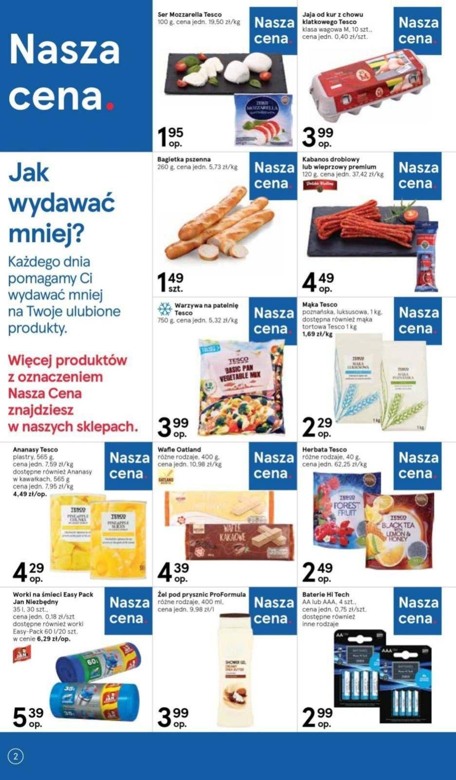 Gazetka promocyjna Tesco do 12/06/2019 str.1