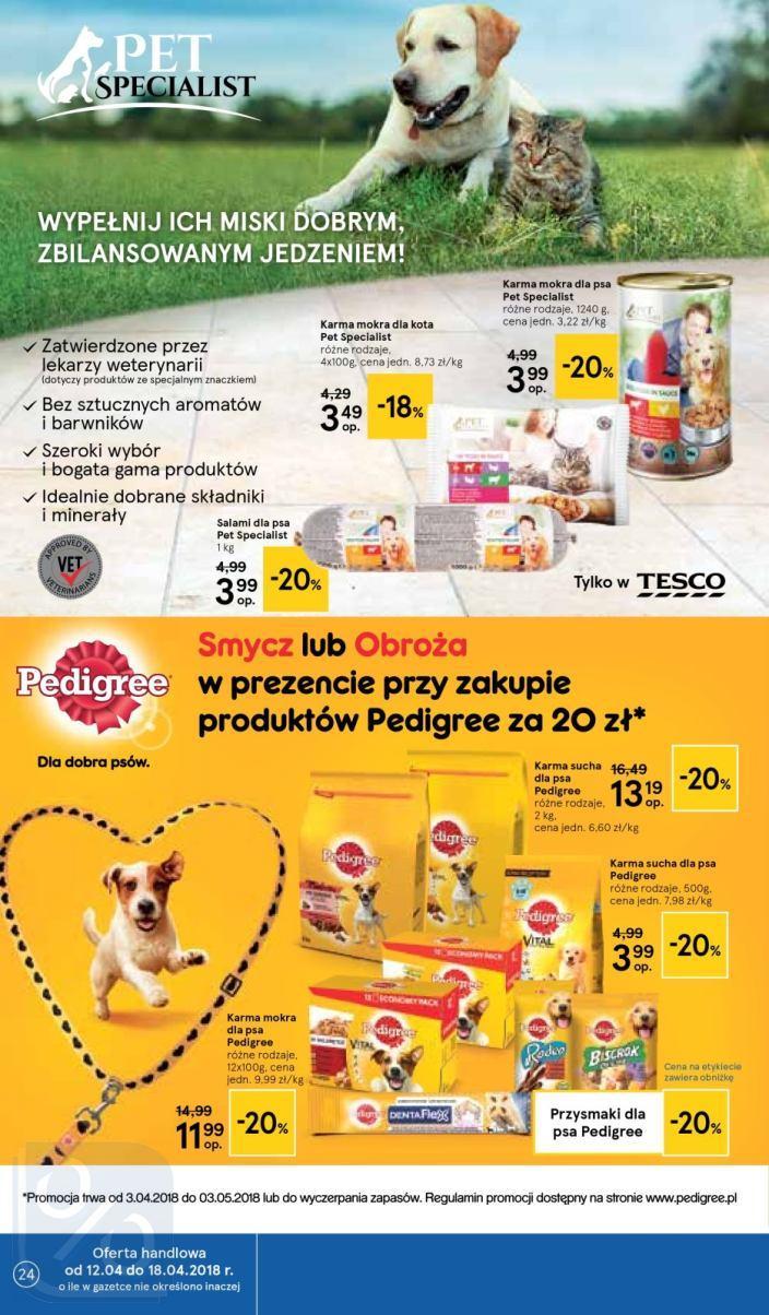 Gazetka promocyjna Tesco do 18/04/2018 str.23