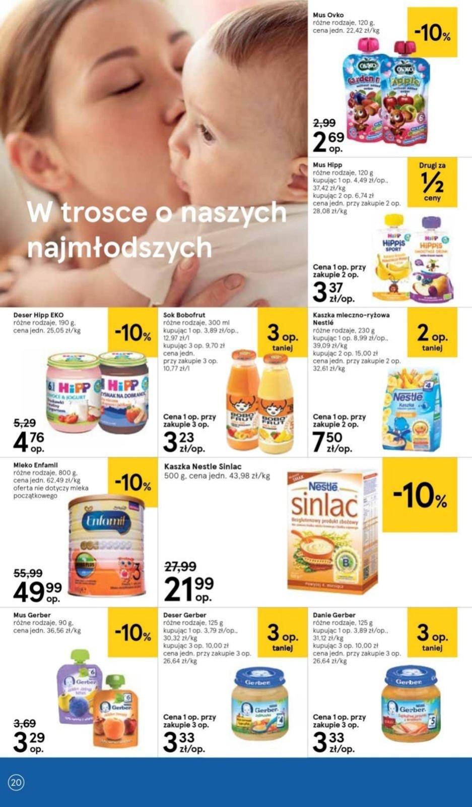 Gazetka promocyjna Tesco do 10/07/2019 str.20