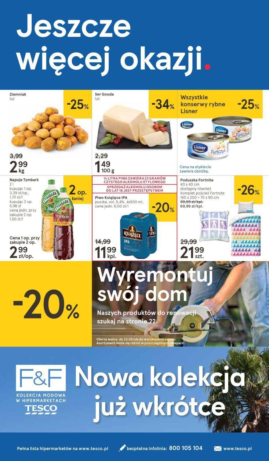 Gazetka promocyjna Tesco do 22/05/2019 str.23