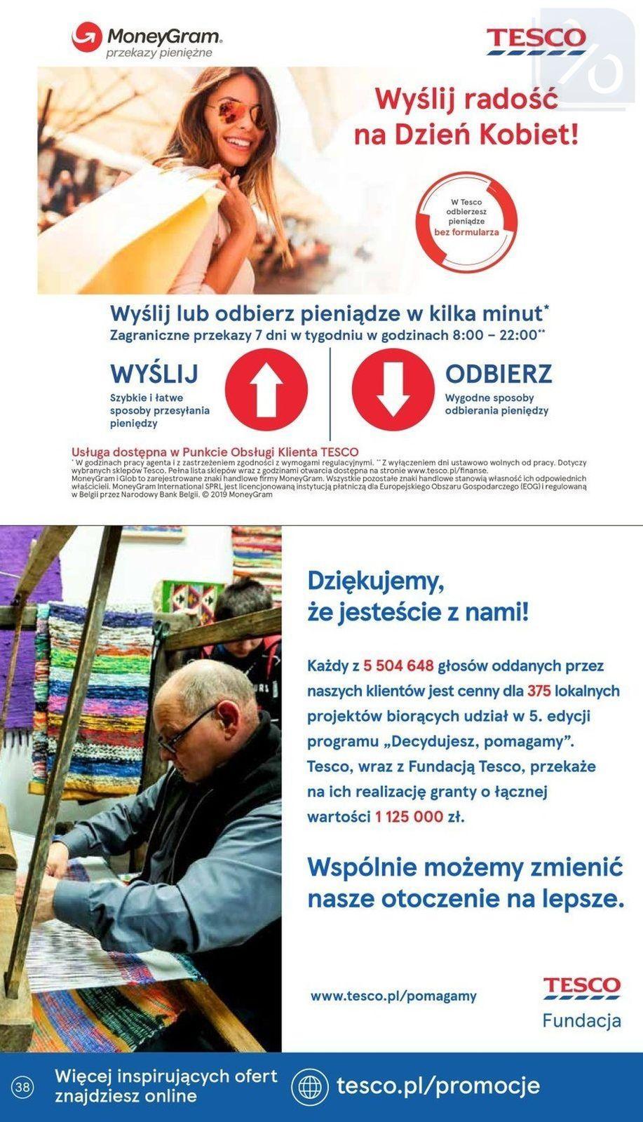 Gazetka promocyjna Tesco do 13/03/2019 str.37