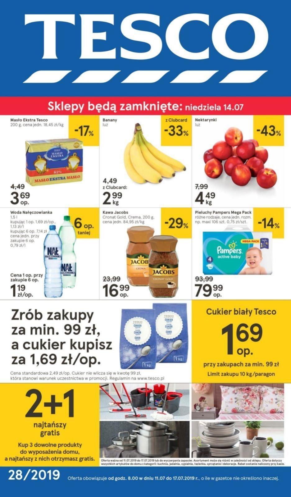 Gazetka promocyjna Tesco do 17/07/2019 str.1