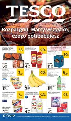 Tesco gazetka - od 23/04/2019 do 29/04/2019