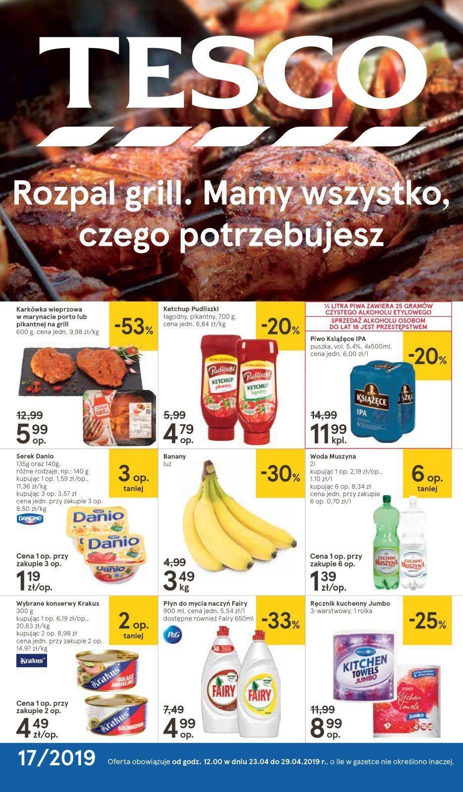 Gazetka promocyjna Tesco do 29/04/2019 str.0