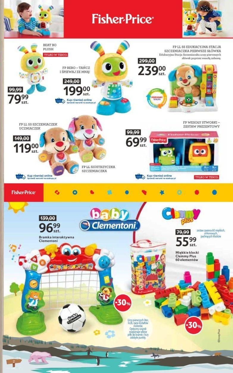 Gazetka promocyjna i reklamowa Tesco, Katalog zabawki, od