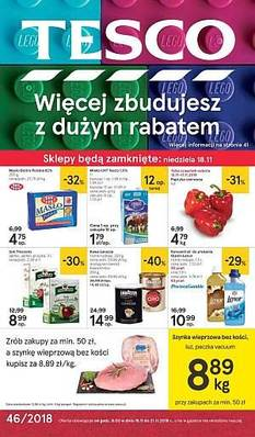 Tesco gazetka - od 15/11/2018 do 21/11/2018