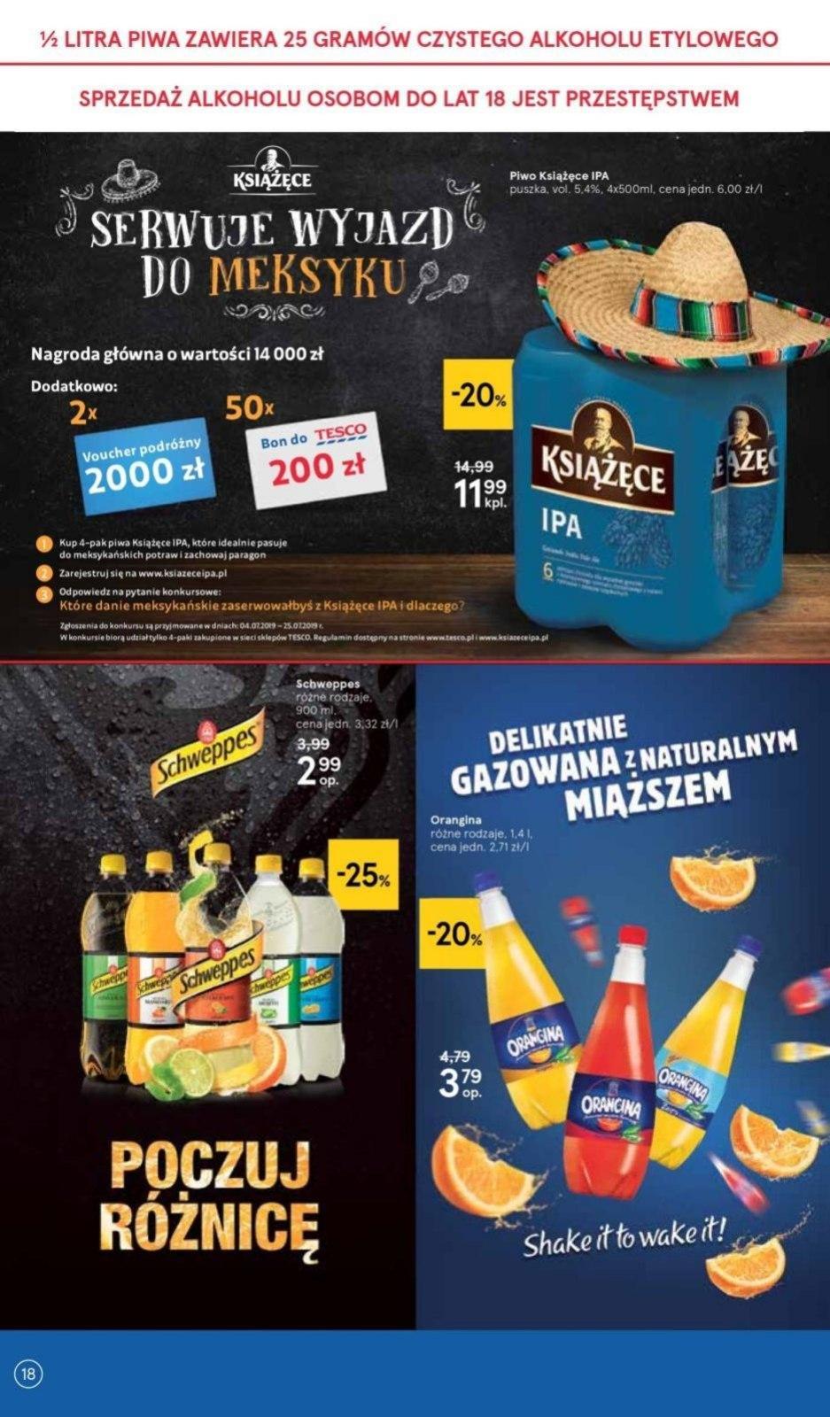 Gazetka promocyjna Tesco do 10/07/2019 str.18