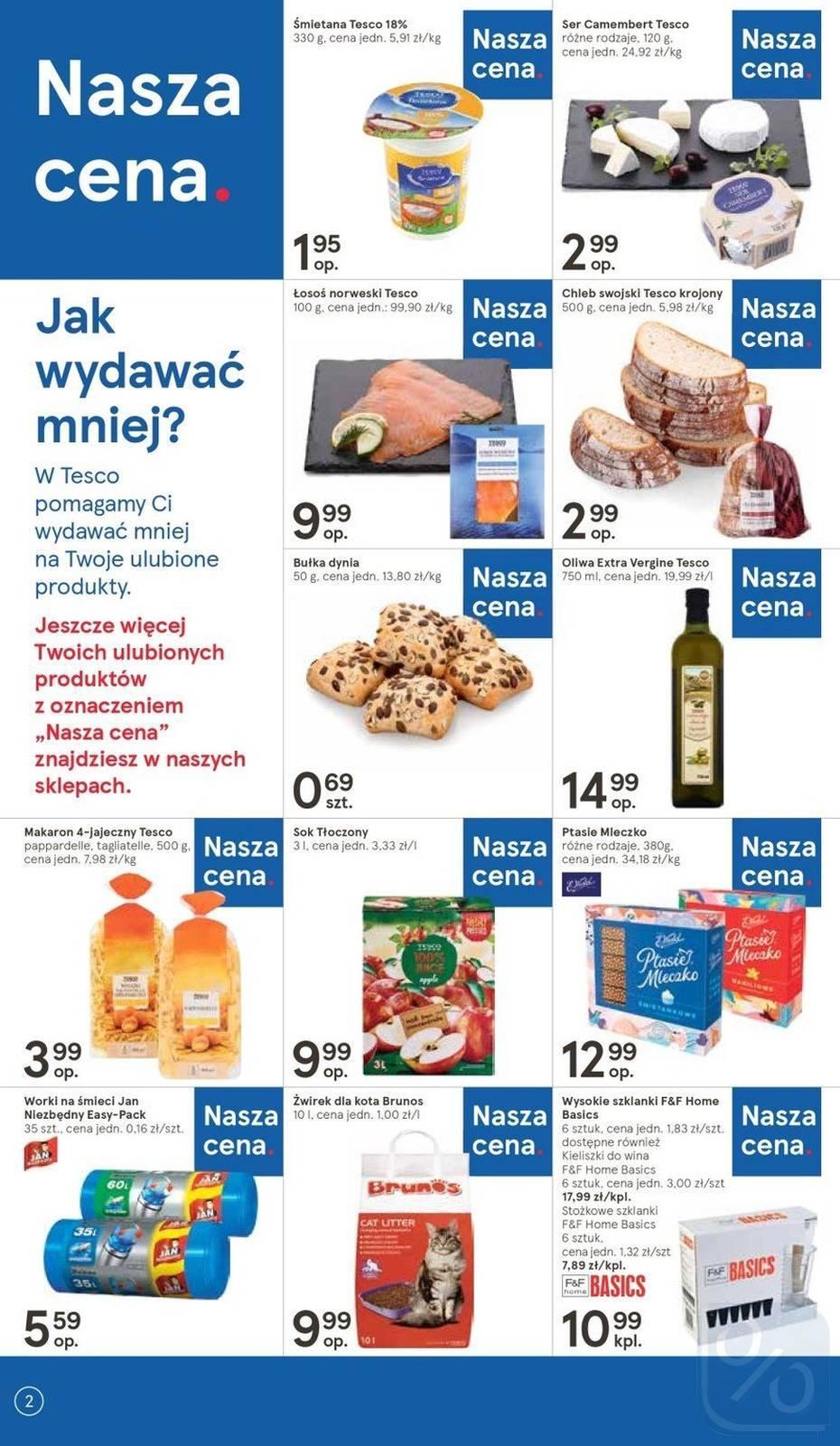 Gazetka promocyjna Tesco do 10/04/2019 str.1