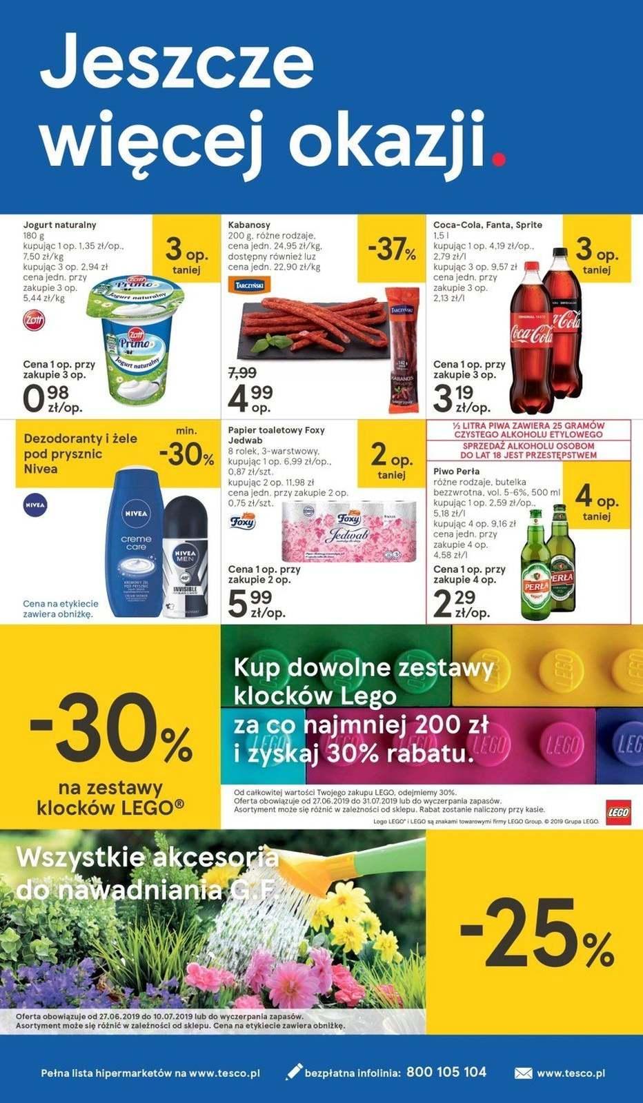 Gazetka promocyjna Tesco do 03/07/2019 str.23