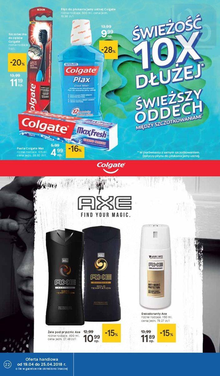 Gazetka promocyjna Tesco do 25/04/2018 str.21