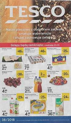Tesco gazetka - od 20/09/2018 do 26/09/2018