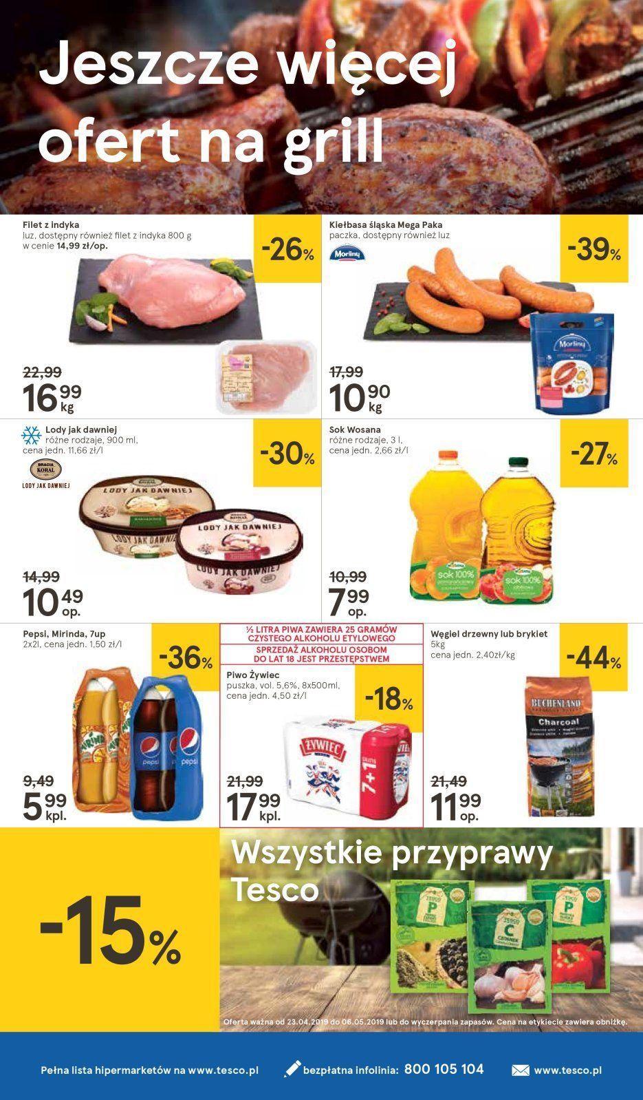 Gazetka promocyjna Tesco do 29/04/2019 str.19