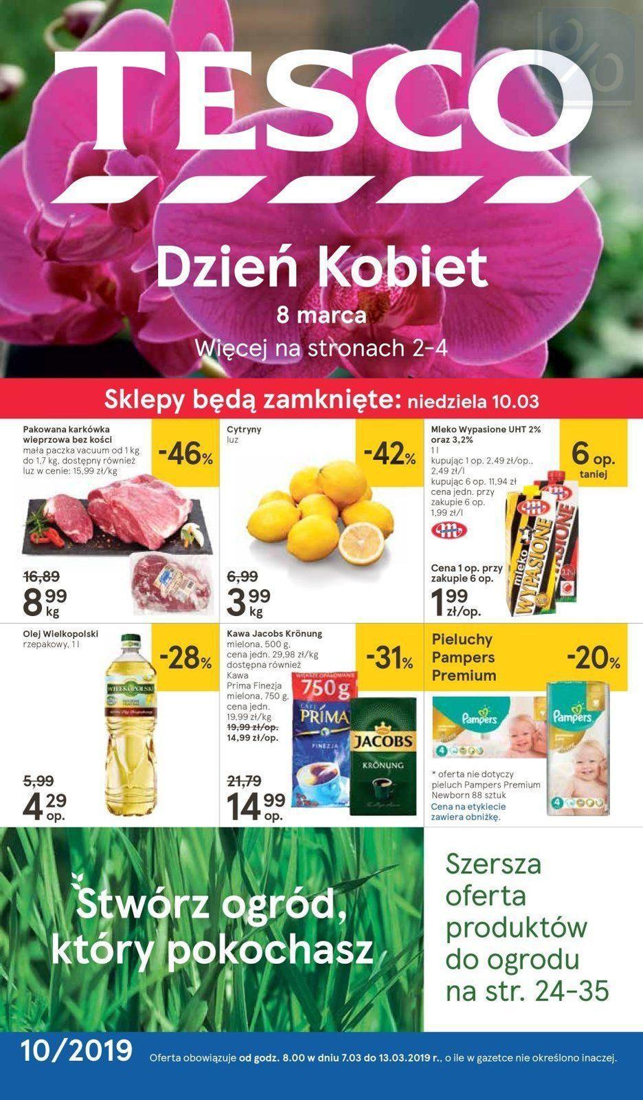 Gazetka promocyjna Tesco do 13/03/2019 str.0