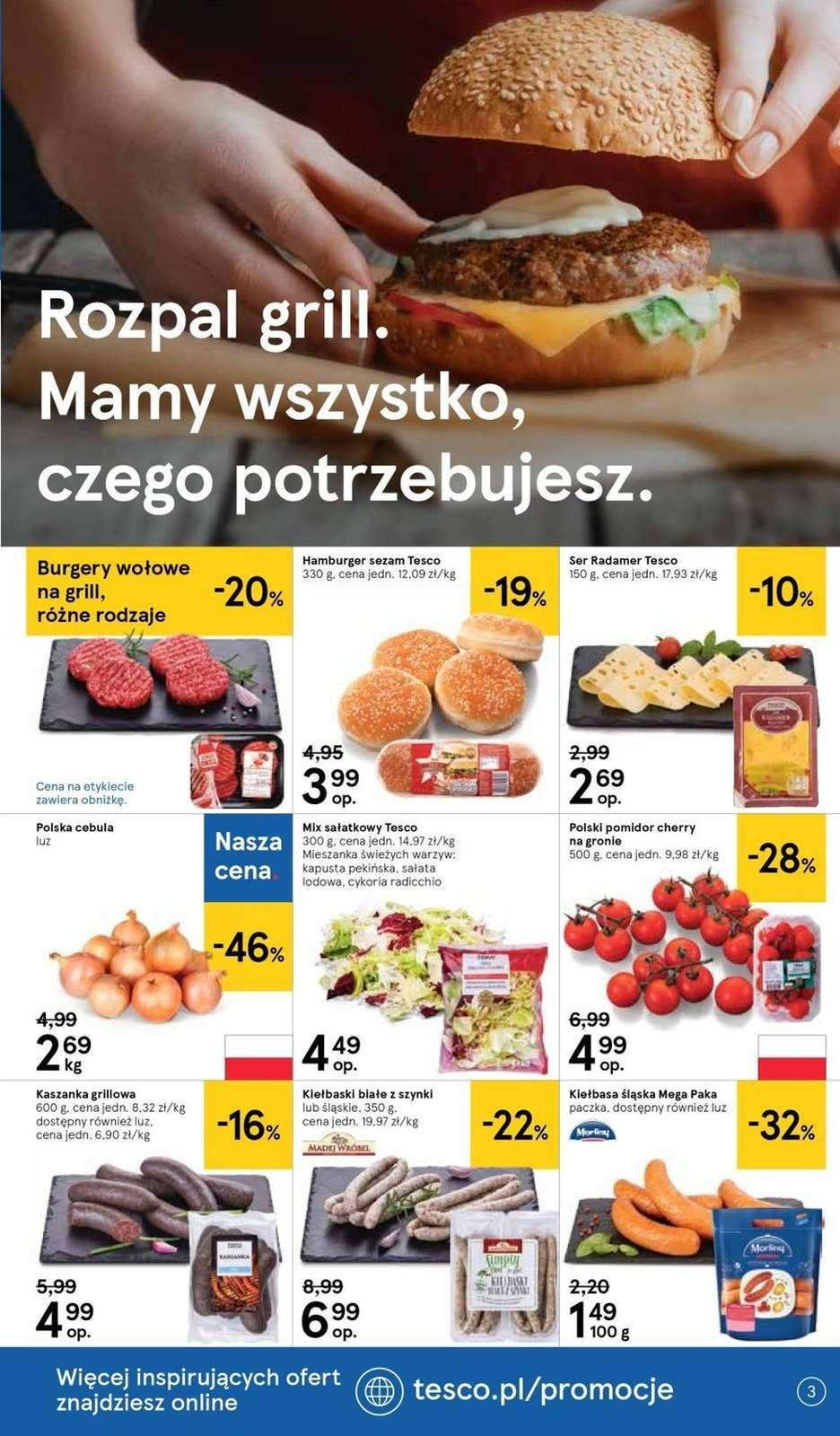 Gazetka promocyjna Tesco do 21/08/2019 str.3