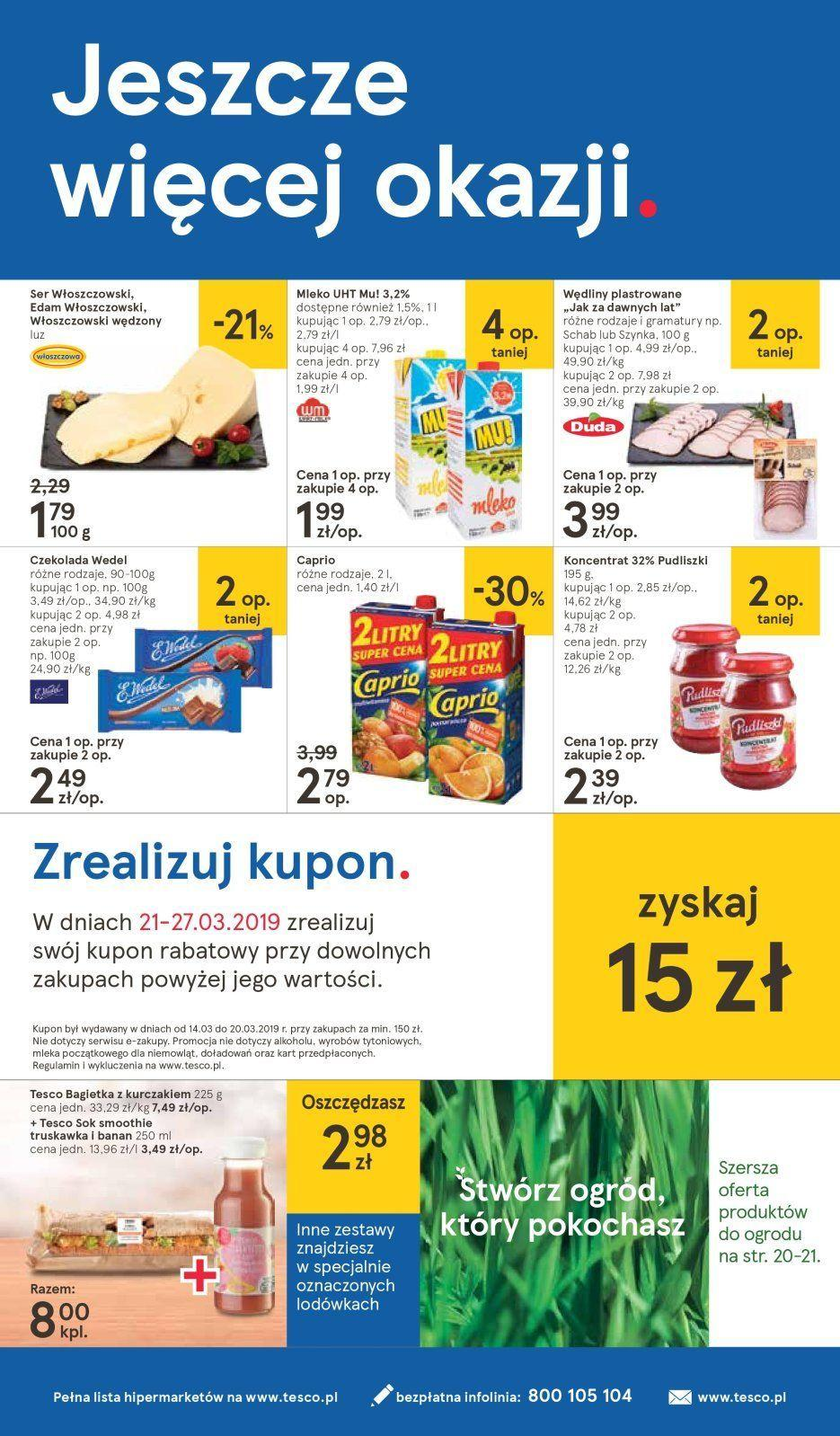 Gazetka promocyjna Tesco do 27/03/2019 str.23