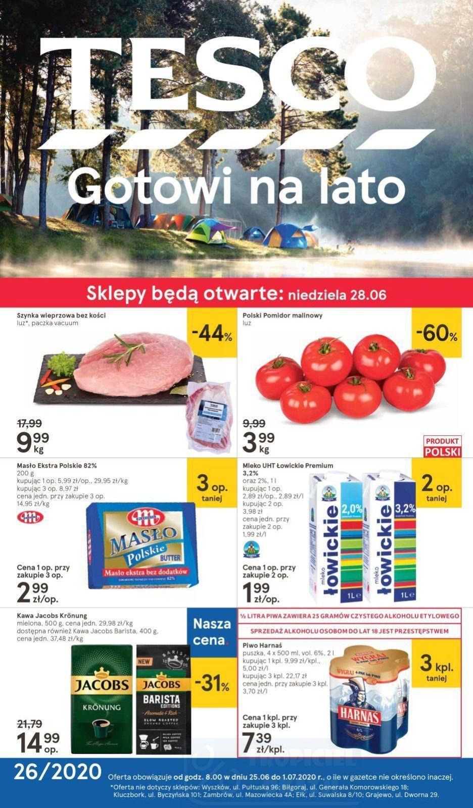 Gazetka promocyjna Tesco do 01/07/2020 str.1