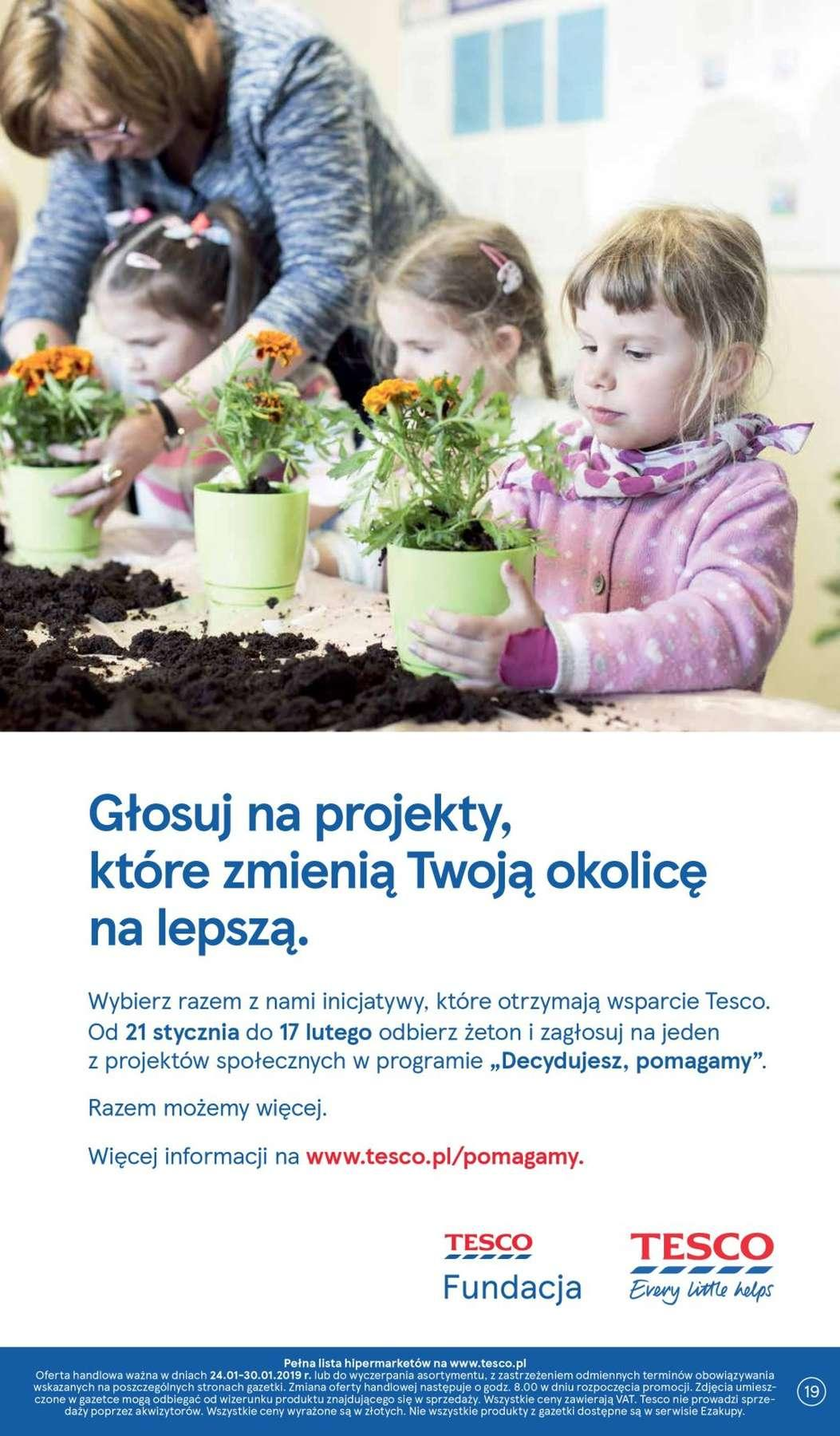Gazetka promocyjna Tesco do 30/01/2019 str.18