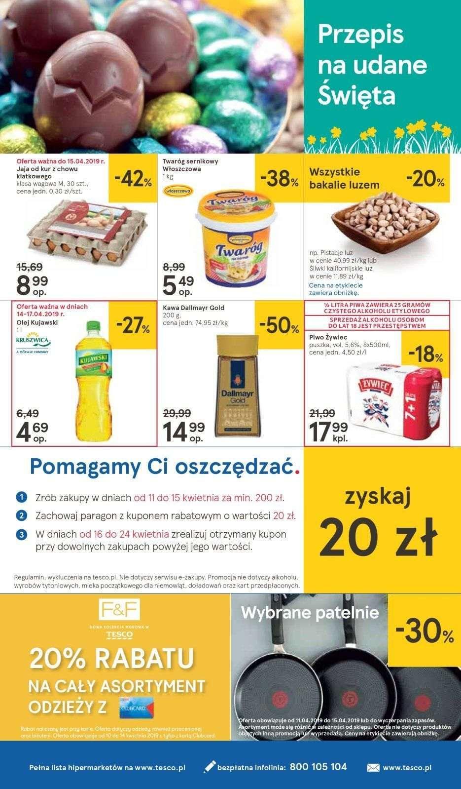 Gazetka promocyjna Tesco do 20/04/2019 str.35