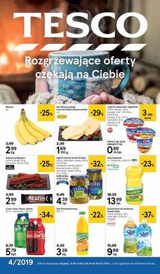 Tesco gazetka  - od 24/01/2019 do 30/01/2019