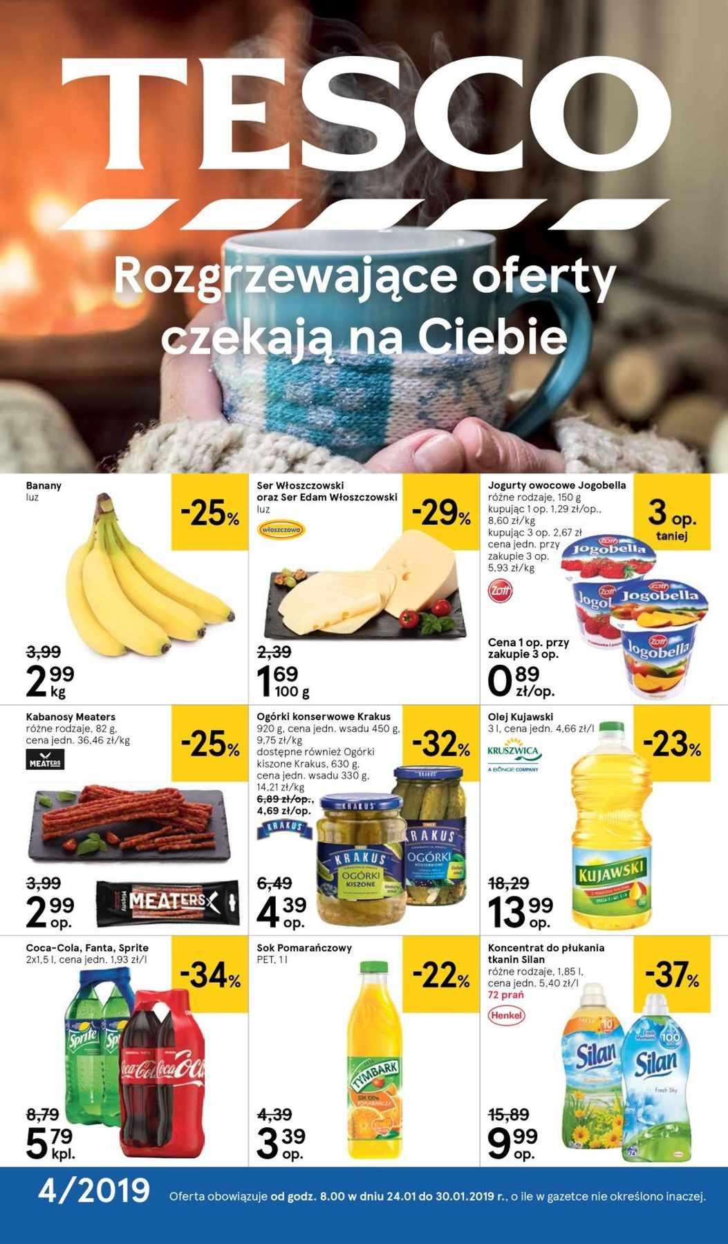 Gazetka promocyjna Tesco do 30/01/2019 str.0