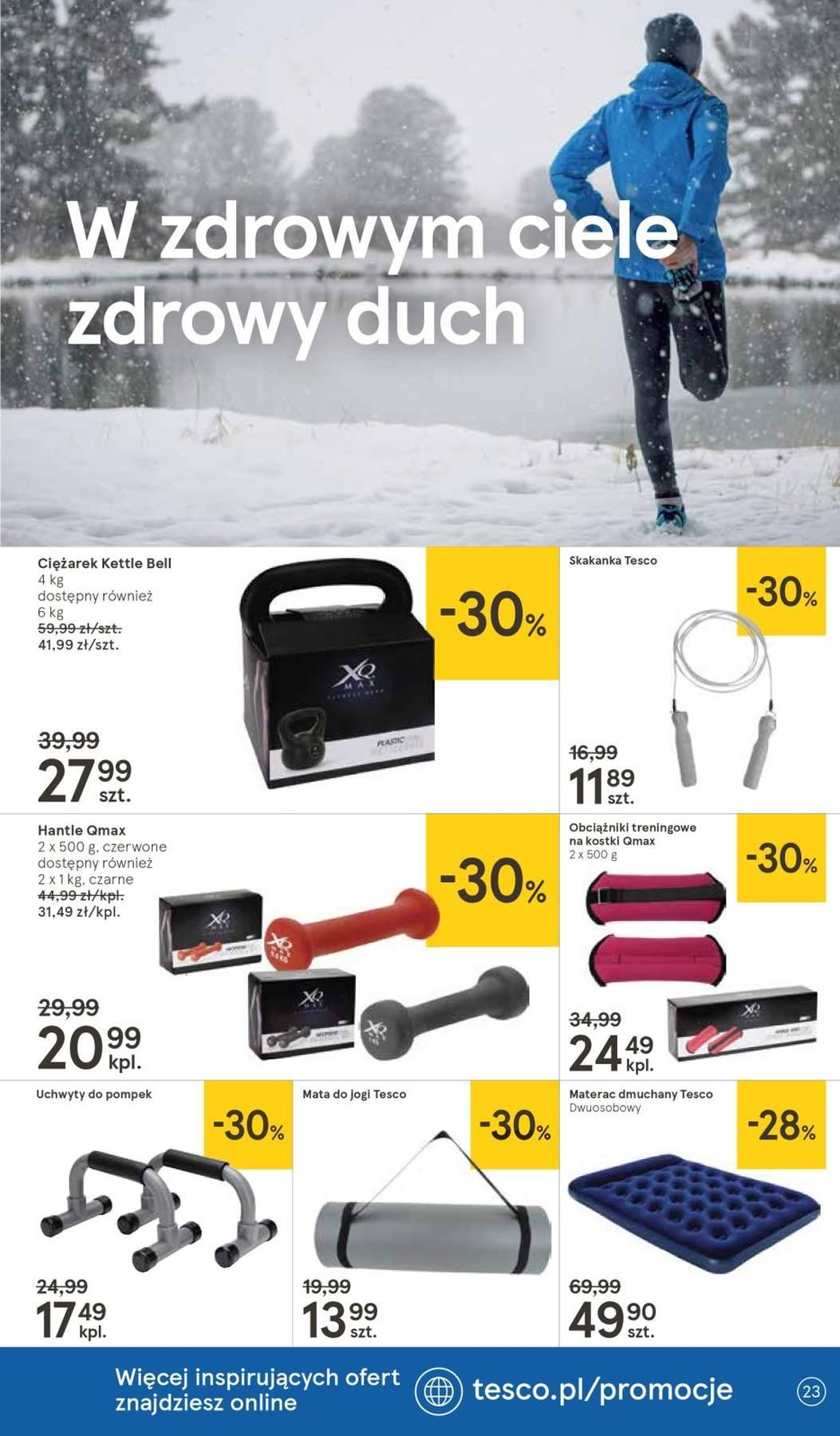 Gazetka promocyjna Tesco do 23/01/2019 str.23
