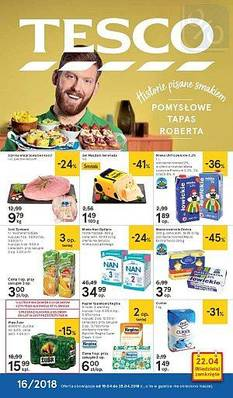 Tesco gazetka  - od 19/04/2018 do 25/04/2018
