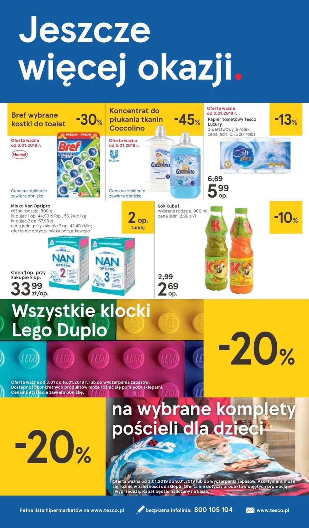 Gazetka promocyjna Tesco do 09/01/2019 str.31