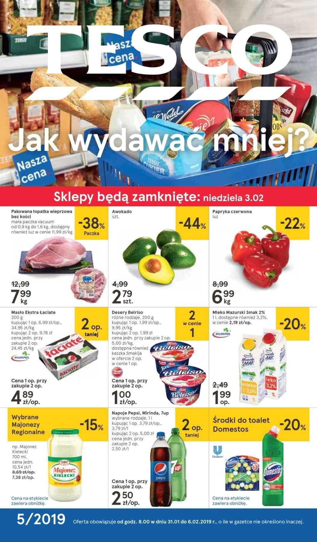 Gazetka promocyjna Tesco do 06/02/2019 str.0