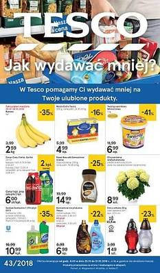 Tesco gazetka - od 25/10/2018 do 31/10/2018