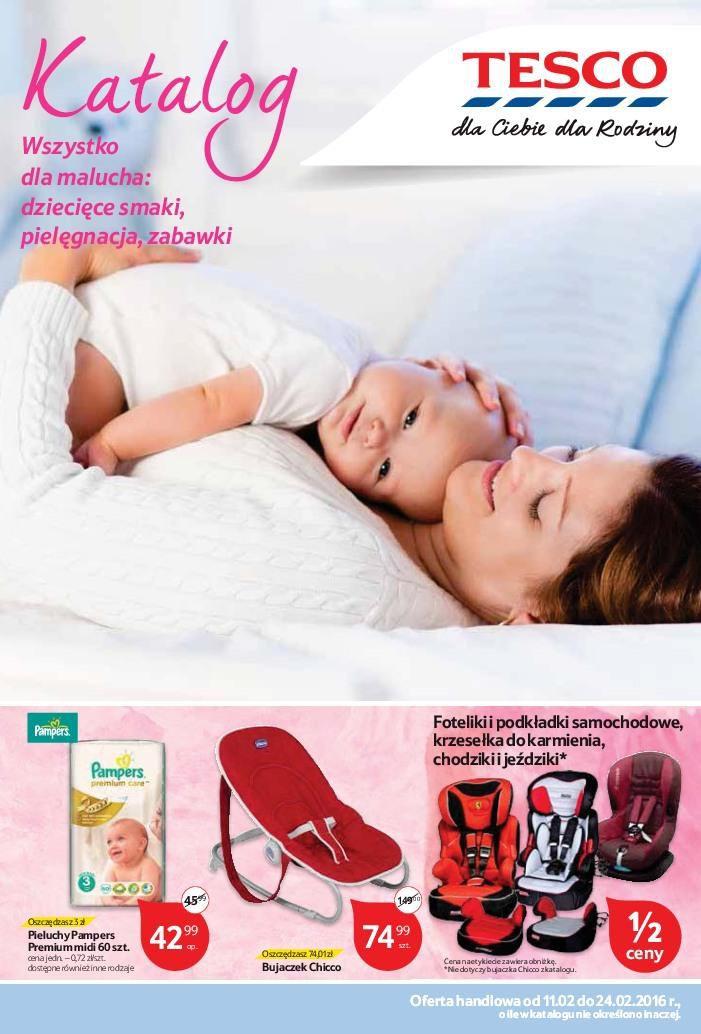 Gazetka promocyjna Tesco do 24/02/2016 str.0