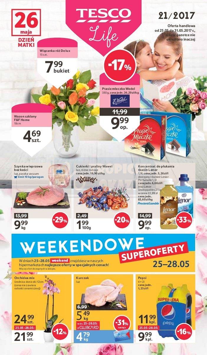 Gazetka promocyjna Tesco do 31/05/2017 str.0