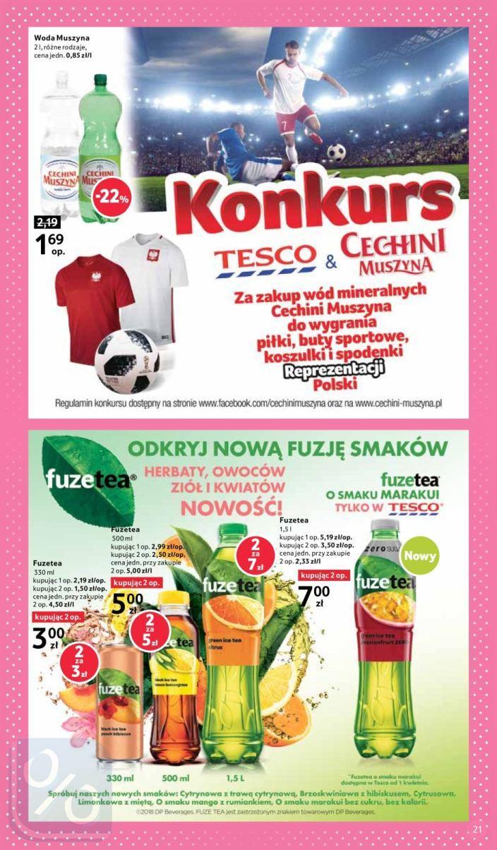 Gazetka promocyjna Tesco do 31/03/2018 str.18