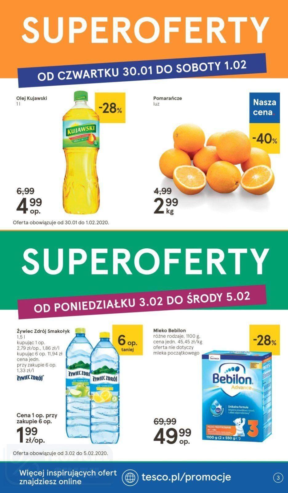 Gazetka promocyjna Tesco do 05/02/2020 str.3