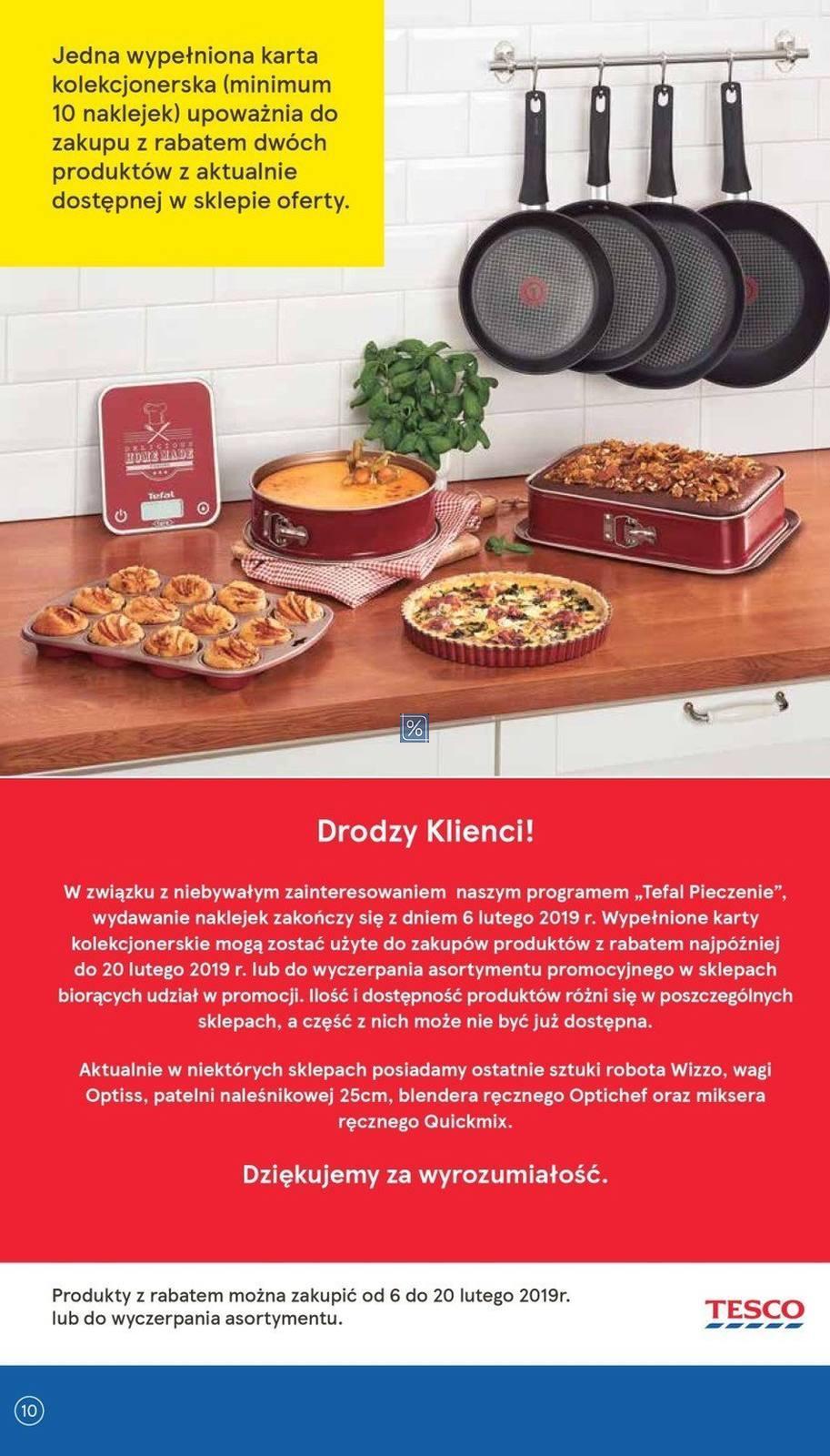 Gazetka promocyjna Tesco do 20/02/2019 str.10
