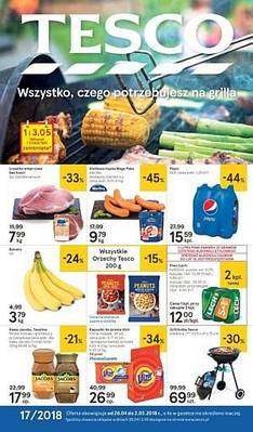 Tesco gazetka - od 26/04/2018 do 02/05/2018