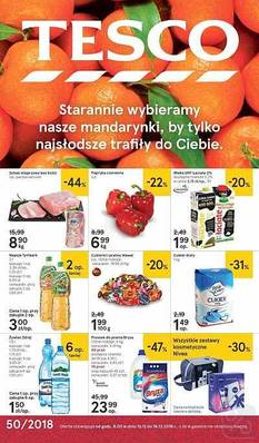 Tesco gazetka - od 13/12/2018 do 18/12/2018