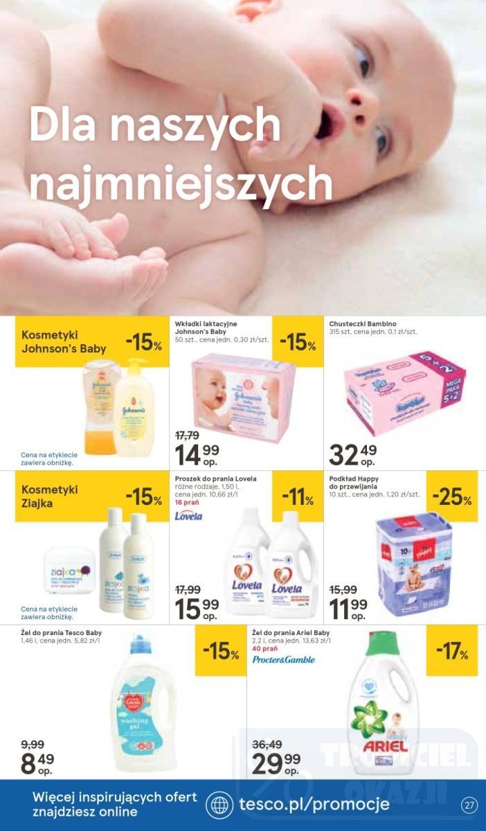 Gazetka promocyjna Tesco do 10/10/2018 str.27